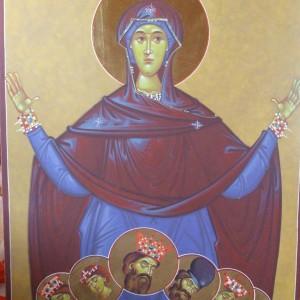 Icoana Maica Domnului oranta a Sf Brancoveni