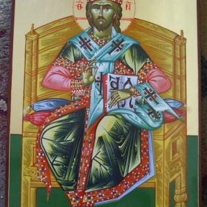 Icoana Mantuitorul Hristos Arhiereu - 1 000 lei