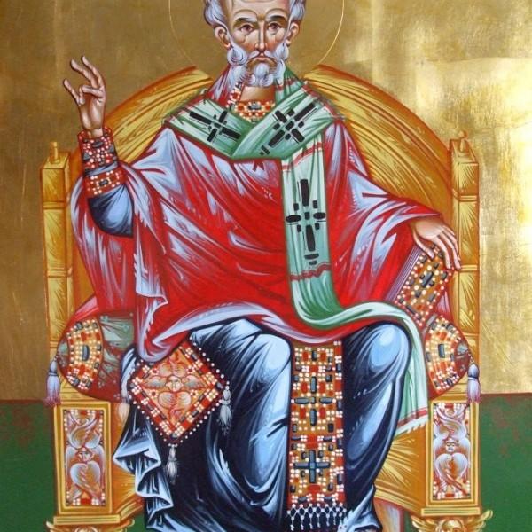 Icoana Sf Ierarh Nicolae