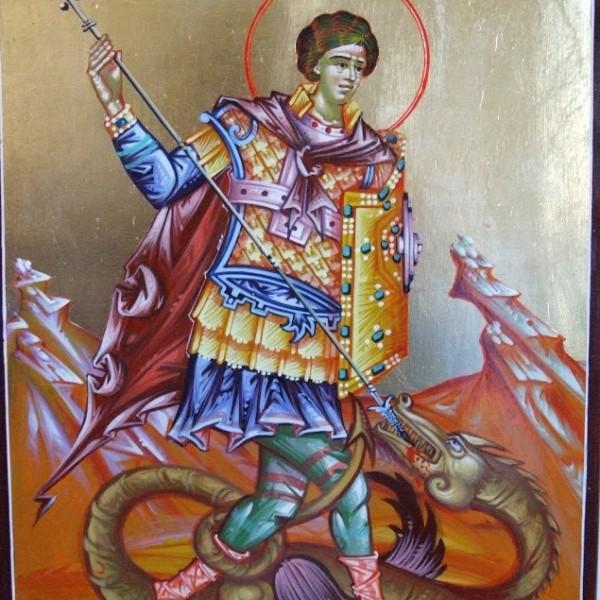 Icoana Sf Mc Gheorghe