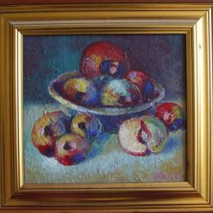 Tablou Natura statica cu fructe